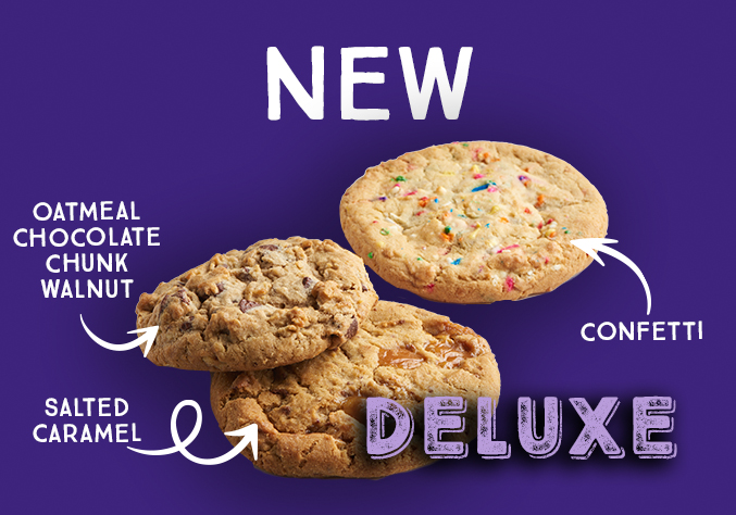 Introducing Three New Deluxe Cookies