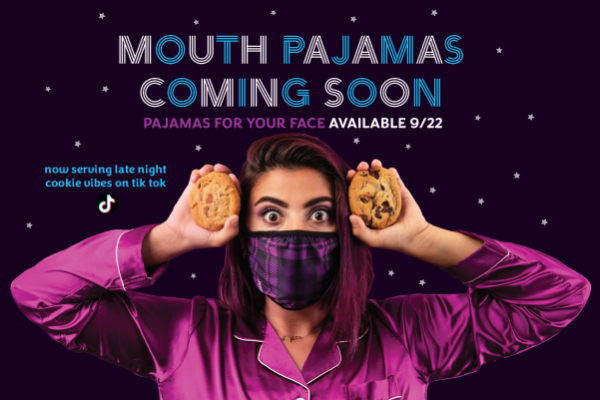 Insomnia Cookies to Launch Mouth Pajamas for Pajama Party Event on September 22nd