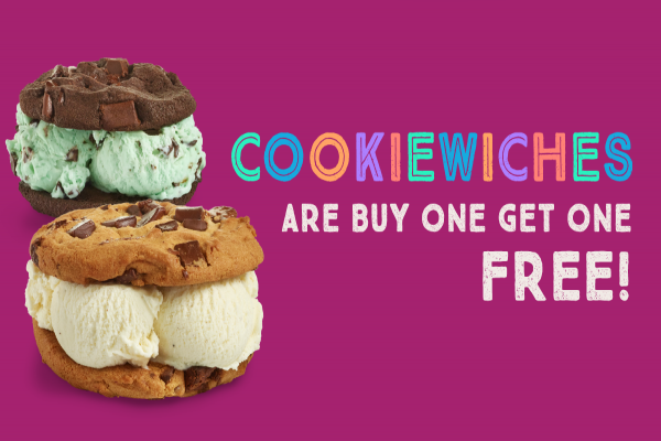Cool Down Today with Insomnia Cookie's National Ice Cream Sandwich Day Deal