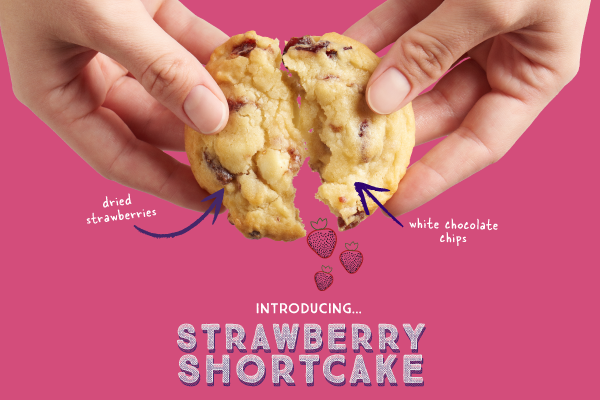 Celebrate Spring With Insomnia's Newest Limited Edition Sweet Treat, The Strawberry Shortcake Cookie
