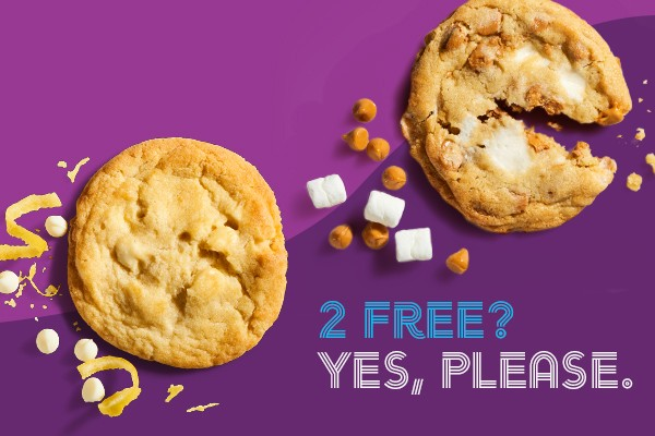 """Hey NYC, Get 2 Free Cookies from Insomnia Cookies' New Research & """"Doughvelopment"""" Lab"""